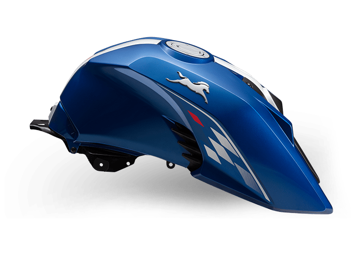 Blue - RTR 160 4V Refresh with ABS